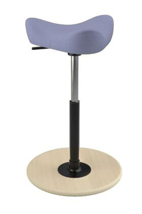 """Varier MOVE SMALL 2700 DINIMICA 22"""" - 32"""" Sit-Stand Chair with Dinimica Upholstery,"""