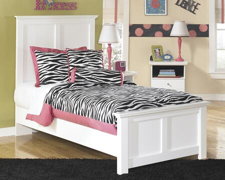 Signature Design by Ashley B139-BED Bostwick Shoals Collection Size Panel Bed: White
