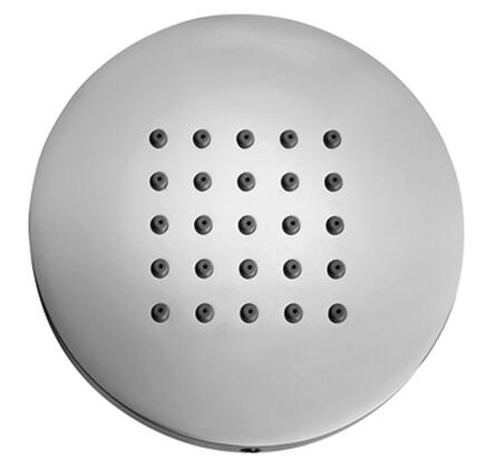 "Jewel Faucets I00175XX Solid Brass Anti-Lime 4"" Round Body Spray"