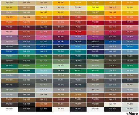 RAL Color Options
