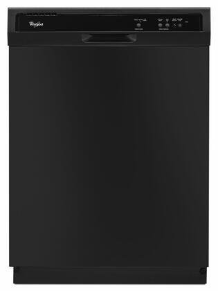 "Whirlpool WDF120PAF 24"" Built-In Full Console Dishwasher with 12 Place Settings, 1-Hour Wash Cycle, High Temperature Wash Option and  Heated Dry:"