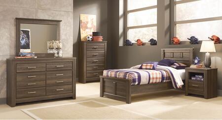 Milo Italia BR371TPBDMN Reeves Twin Bedroom Sets