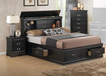 Glory Furniture G3150 6 Piece Queen Size Bedroom Set