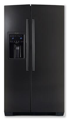 "Electrolux EI26SS30J IQ-Touch 36"" 25.95 Cu. Ft. Freestanding Side-by-Side Refrigerator, PureAdvantage Air Filter, Luxury-Glide Crispers, IQ-Touch Controls, and Energy Star Rating, in"
