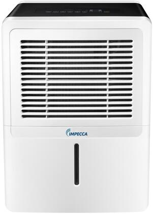 "Impecca IDMxSE 15"" Energy Star Portable Dehumidifier with x Pints Dehumidification per Day, 24 Hour Timer, Electronic Controls, Washable Filter and Auto Shut Off with Full Tank, in White"