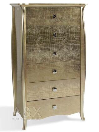 VIG Furniture VGUNAW55476 A & X Imperial Series Wood Chest
