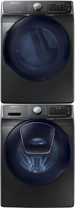 Samsung Appliance 691548 Black Stainless Steel Washer and Dr