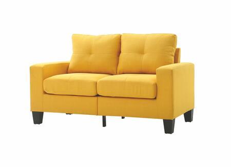 Glory Furniture G470AL Newbury Series Fabric Stationary Loveseat