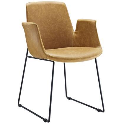 Modway EEI-1806 Aloft Dining Leather Armchair