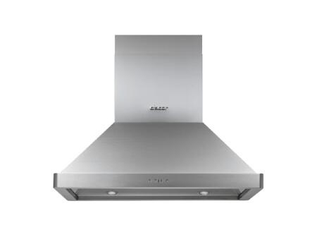 Dacor Discovery DHI Island Mount Range Hood with a 600 CFM Internal Blower, Halogen Lighting and Variable Speed Control