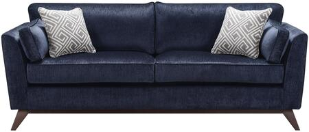 Donny Osmond Home 505524 Amsterdam Series Stationary Fabric Sofa