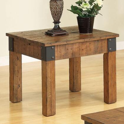 Coaster 701457 Accent Tables Series Country Square End Table