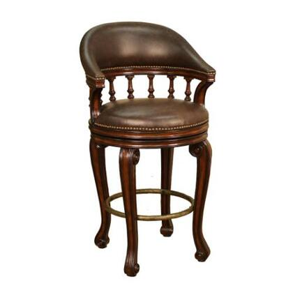 American Heritage 126836 Residential Leather Upholstered Bar Stool