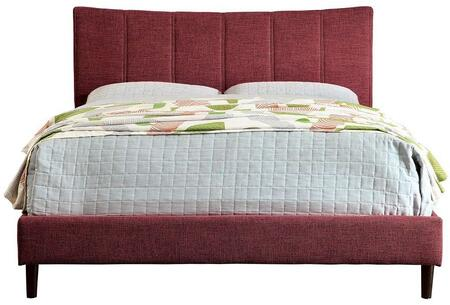 Furniture of America CM7678RDQBED Ennis Series  Queen Size Bed