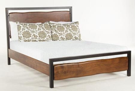 Home Trends & Design WGE25 GlenWood Series  Queen Size Panel Bed