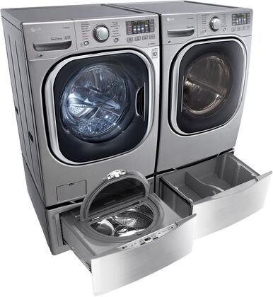 LG WM4370HVAEDPEDSPAIR2 Washer and Dryer Combos