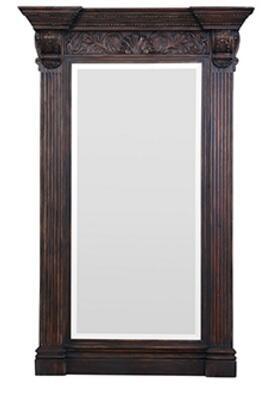 Bramble 25438 Charleston Series Rectangular Portrait Floor Mirror