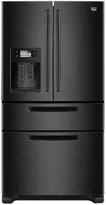 Maytag MFX2571XEB  French Door Refrigerator with 25 cu. ft. Total Capacity 4 Glass Shelves