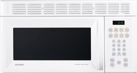 Hotpoint RVM1535DMWW 1.5 cu. ft. Capacity Over the Range Microwave Oven
