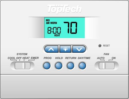 Programmable Heat pump Thermostat