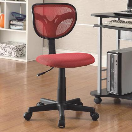 """Coaster 800055R 21"""" Adjustable Casual Office Chair"""