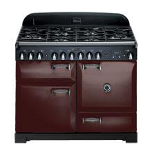 AGA ALEG36ECDBRK Legacy Series Electric Freestanding Range with Smoothtop Cooktop, 1.8 cu. ft. Primary Oven Capacity, in Brick