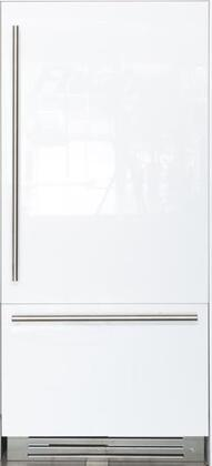 Fhiaba FI36BI Integrated Series Built-in Bottom-Freezer Refrigerator with 19.3 cu. ft. Capacity, TriPro Refrigeration, 2 EvenLift Shelves, LED Lighting and Automatic Ice Maker: Panel Ready with