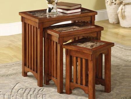 Acme Furniture 80034 Silas Series Casual  End Table