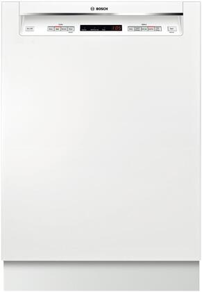"""Bosch SHE53TL2UC 24"""" 300 Series Built In Full Console Dishwasher"""