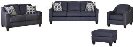 Milo Italia MI8056SLCOMBLU Madden Living Room Sets