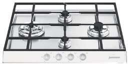 Smeg PTS605BU3  Gas Sealed Burner Style Cooktop, in White