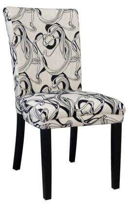 Chintaly MISTYPRSSC2SET Melanie Dining Room Chairs