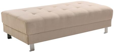 Glory Furniture G443O Milan Series Fabric Ottoman