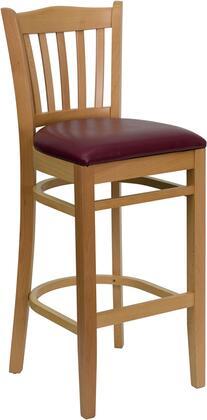 Flash Furniture XUDGW0008BARVRTNATBURVGG Hercules Series Vinyl Upholstered Bar Stool