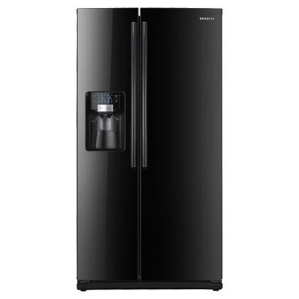 Samsung Appliance RS267TDBP Freestanding Side by Side Refrigerator