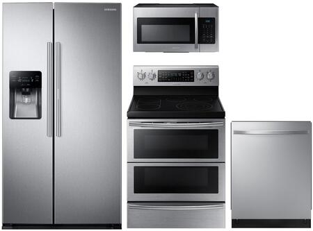 Samsung 991463 4 piece Stainless Steel Kitchen Appliances Package