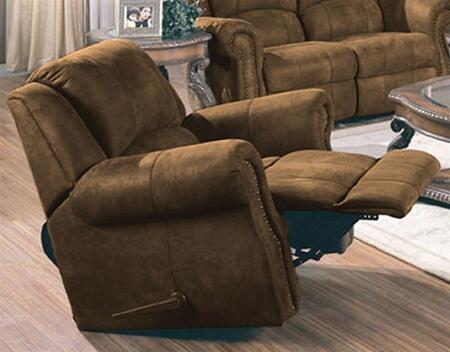 Coaster 550153 Rawlinson Series Contemporary Wood Frame  Recliners