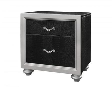 Glory Furniture G2800N  Square Wood Night Stand
