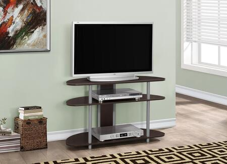 "Monarch I252X 38"" TV Stand with Center Shelf, Sound Bars and AV Accesories"