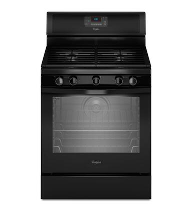 Whirlpool WFG540H0AB  Gas Freestanding Range with Sealed Burner Cooktop, 5.8 cu. ft. Primary Oven Capacity, Storage in Black