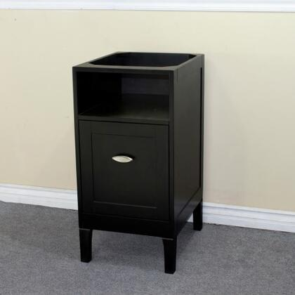"""Bellaterra Home 7711 16"""" Single Sink Vanity Cabinet Only (Countertop, Backsplash, Mirror and Faucet Not Included) in"""