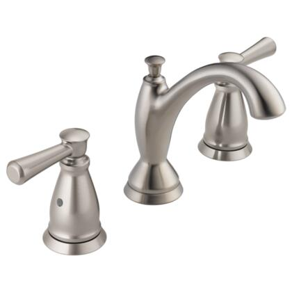 Linden  3593-SSMPU-DST Delta Linden: Two Handle Widespread Lavatory Faucet in Stainless