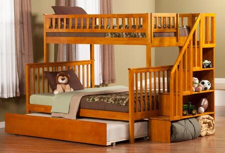 Atlantic Furniture AB56757  Twin over Full Size Bunk Bed