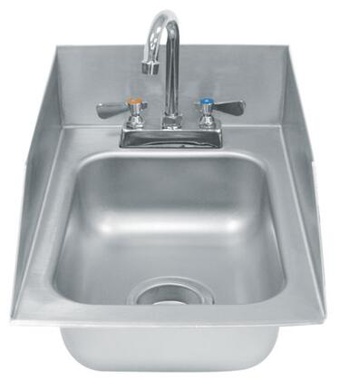 Drop In Sink with Side Splash