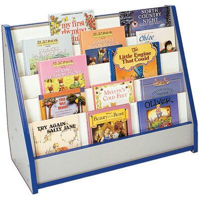 Mahar M50025BL Childrens  Wood Magazine Rack