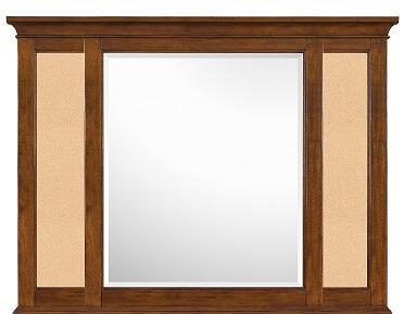 Magnussen Y187343 Riley Series Childrens Rectangular Portrait Cork Mirror