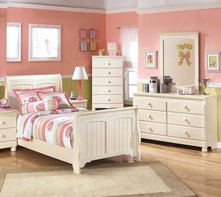 Milo Italia BR303TSLBDMC Burton Twin Bedroom Sets