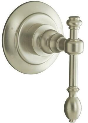 Kohler K-T10682-4- IV Georges Brass transfer valve trim: Polished Nickel