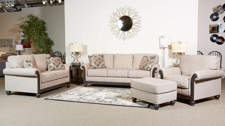 Milo Italia MI1886SLCOTAUP Alexandra Living Room Sets