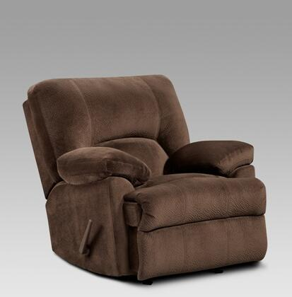 Chelsea Home Furniture 192800CB Kira Series Contemporary Fabric Wood Frame Rocking Recliners